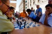 the king's game in the plaza de armas
