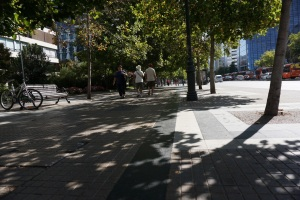 walking in las condes